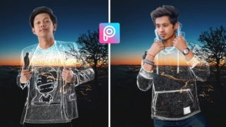 How to Make Invisible Cloth In picsart