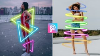 PicsArt Neon Glowing Editing Tutorial