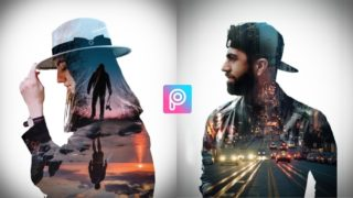 Double Exposure Effect PicsArt Editing Tutorial