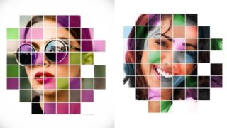 Picsart Grid Effect Photo Editing PicsArt