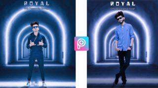 PicsArt Royal Editing | Background Editing