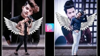 PicsArt Amazing Wings Editing |Picsart Background Change