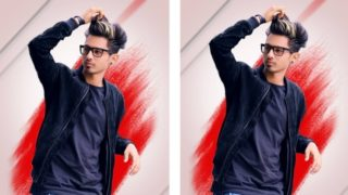 Amazing Brush Portrait Effect | Picsart Photo Editing
