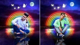 Amazing Night Portrait | Png & Background Download