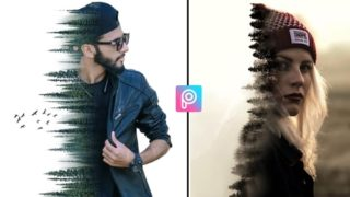 PicsArt Dual Exposure Background & Png Download