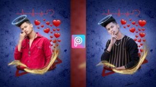 PicsArt Triangle Popout Photo Editing Tutorial