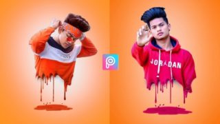 PicsArt Realistic Dripping Effect | png and background download