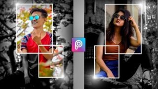 PicsArt Editing New Tricks | Light & Frame Png Download