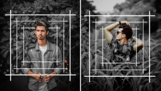 PicsArt Frame Portrait Png & Background Download