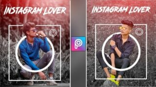 Instagram Lover Photo Editing | Png & Background Download