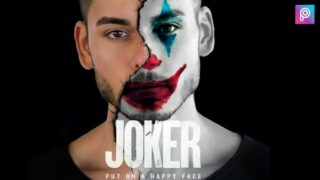 Joker Face Editing Tutorial | Png And Background Download