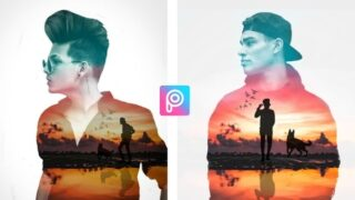Double Exposure Effect | Png & background Download