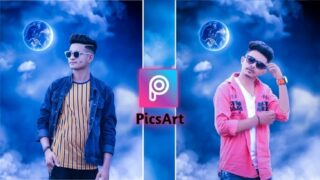 PicsArt Night Moon Photo Editing Background Download