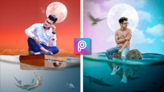 Underwater Photo Editing | Png & Background Download