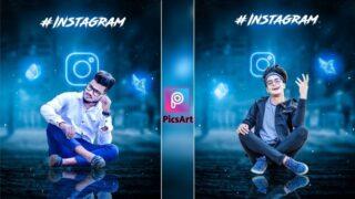 Picsart Creative Instagram Photo Editing, Background Download