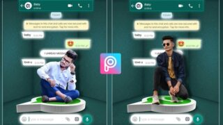 Creative Whatsapp Photo Editing | Png & Background Download