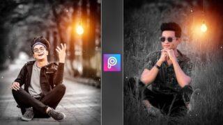 PicsArt Light Bulb Effect | Png & Background Download