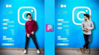 Creative Instagram Photo Editing | Png Background Download