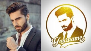 Make Your Gold Face Logo on Android | Gold Background Download